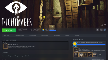 Little Nightmares - Hard to the Core 1.png